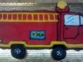firetruck cupcake shape
