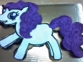 pony cupcake shape